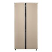 松下 NR-EW57SD1-N 570升 磨砂金  变频风冷无霜 对开门冰箱 双循环制冷系统 银离子抗菌
