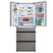松下 NR-EE50TP1-S 498升 酷雅银 风冷无霜多门冰箱 节能导航 全开式抽屉设计产品图片3