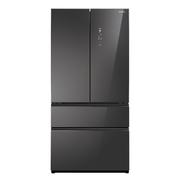 松下 NR-EW61TX1-M 618升 无边框镜面玻璃 大容量多门冰箱 玛瑙黑 臻材室设计 智能wifi控制