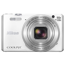 尼康 COOLPIX S7000 数码相机 白色产品图片主图