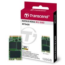 创见 MTS420系列 120G NGFF 固态硬盘(3D-NAND技术 仅支持SATA协议)产品图片主图