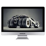 技讯(GVNXUHI) JXG5005 23.6英寸办公家用一体机电脑(i5 6500 4G 32G+500G WIFI 无线键鼠 DOS)银白色
