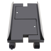 IT-CEO 电脑主机移动托架 台式主机箱架主机托盘机箱架 黑色(伸缩式H型/四个轮子/带锁扣/X2Z6)