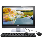 戴尔 灵越3264-R1408B 21.5英寸防眩光一体机电脑(i3-7100U 4G 1T FHD DVD WIFI Win10 黑)