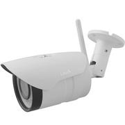 易视眼 185T 5倍光学变焦监控枪机200W网络高清插卡摄像头1080P白色防水