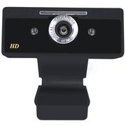 现代 HYC-HD8200摄像头电脑台式机视频会议摄像头网络高清摄像头 黑色