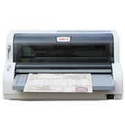 OKI 7700F+ 针式打印机 营改增发票 支票平推式打印 快递单出库单后进纸高速连打(支持82列24针打印)