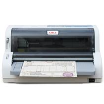 OKI 7700F+ 针式打印机 营改增发票 支票平推式打印 快递单出库单后进纸高速连打(支持82列24针打印)产品图片主图