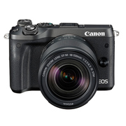 佳能 EOS M6(18-150)微型可换镜数码相机 黑色