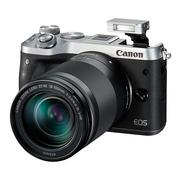 佳能 EOS M6(18-150)微型可换镜数码相机 银色