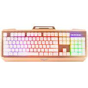 新贵 轻雅816 混光游戏键盘 白色