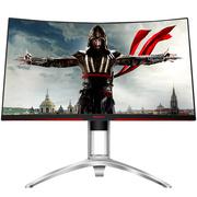 AOC 爱攻II AG272FCX 27英寸高清大屏 144Hz刷新 1800曲度 全接口游戏电竞曲面显示器