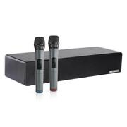灵云 H2 网络盒子 网络电视机顶盒 带KTV音箱 配无线双话筒