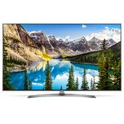 LG 60UJ7588 60英寸哈曼卡顿音箱 主动式HDR 纯色硬屏纤薄机身  智能电视(银色+白色)