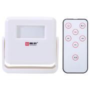 岡祈 GQ02门铃感应器独立式可充电店铺进门欢迎光临感应迎宾器电子红外线防盗报警器家用