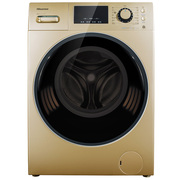 海信  9公斤 全自动变频滚筒洗衣机 智能投放洗衣液 WiFi控制 中途添衣 羽绒洗 XQG90-S1226FIYG