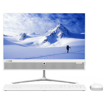 联想 AIO 510致美一体机台式电脑21.5英寸(G4560T 4G 1T 集成显卡 WIFI 蓝牙 Win10 )白产品图片主图