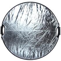 金鹰 110cm反光板 五合一带手柄圆形折叠便携反光板柔光板产品图片主图