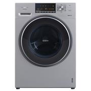松下 XQG90-E59L2H 9公斤大容量变频滚筒洗衣机 三维立体洗泡沫净银色