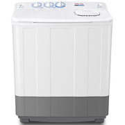 TCL XPB70-2608S 7公斤 半自动双缸洗衣机 AIR DRY通风式甩干(芭蕾白)