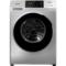 三洋 WF80BHIS565S 8公斤洗烘一体变频滚筒洗衣机 WiFi云洗 中途添衣(哑光银)产品图片1