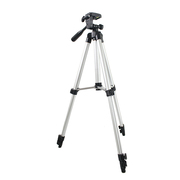 天气不错 微单单反数码相机便携三脚架+手机架+自拍器套装 佳能尼康DV手机旅行自拍搭档 S1022 银色 1.3M