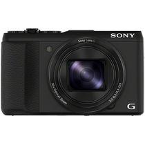 索尼 HX50 数码相机 黑色(2040万像素 3英寸液晶屏 30倍光学变焦 24mm广角 Wi-Fi传输)产品图片主图