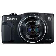 佳能 SX700 HS 数码相机 黑色(1610万像素 30倍光学变焦 3英寸液晶屏)