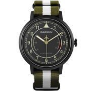 佳明 vivomove APAC 智能手表智能活动监测传统指针手表记步距离卡路里睡眠监测久坐提醒 迷彩绿