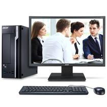 宏碁 商祺SQX4650 120N 台式办公电脑19.5英寸(G3930 2GDDR4 1T 键鼠 Win10 )产品图片主图
