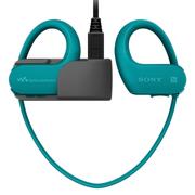 索尼 可穿戴式运动防水音乐播放器 WS623 (蓝色)