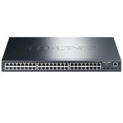 TP-LINK TL-SG5452 48口千兆三层网管型核心交换机 4千兆光纤口
