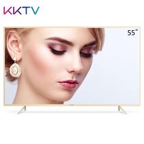 KKTV U55X 55英寸4K超高清金属超薄 HDR MEMC 26核64位液晶平板智能电视机 尊贵版 金色产品图片主图