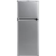 美的  BCD-111CM(E) 111升双门节能家用小冰箱 日耗电0.56度 HIPS环保内胆 占地仅0.25㎡左右 泰坦银