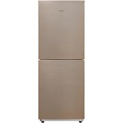 美的  BCD-166WM 166升 风冷无霜 电脑控温 日耗电0.58度 双系统双门电冰箱 感温探头 爵士棕