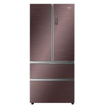 海尔 BCD-550WDEYU1 550升变频风冷无霜法式多门冰箱 精控干湿分储 超导料理盘 智能WIFI产品图片主图