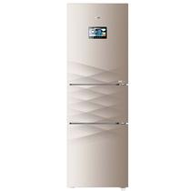 海尔 BCD-225SDICU1 225升三门互联网冰箱 人机交互食材管理7寸TFT高清大屏影音娱乐金色产品图片主图