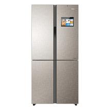 海尔 BCD-475WDIDU1 475升变频风冷无霜互联网冰箱 干湿分储智能食材管理影音娱乐智能交互金沙银产品图片主图