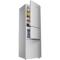 美菱 BCD-209M3CX 209升三门冰箱 三温区 家用节能静音(银)产品图片3