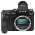 富士 GFX 50S 无反中画幅相机 黑色 5140万像素 便捷操控 紧凑轻量 触摸可翻折LCD 高清视频 WIFI