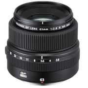 富士 GF63mm F2.8 R WR 中画幅标准定焦镜头 全新G卡口 直观便捷操控 黄铜镜头卡口 全天候保护