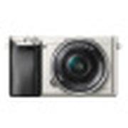 索尼 ILCE-6000L APS-C微单单镜套机 银色(16-50mm镜头 F3.5-5.6 a6000L/α6000)