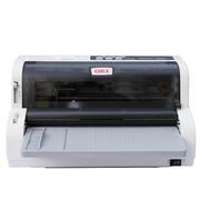 OKI 5500FS+ 发票打印机支票票据 快递单送货单连打针式打印机(82列24针平推 3年联保)
