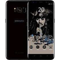 三星 Galaxy S8(SM-G9500)4GB+64GB版 谜夜黑(加勒比海盗定制版)移动联通电信4G手机 双卡双待产品图片主图