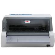 OKI 230F 平推式针式打印机 发票 票据 二维码打印机
