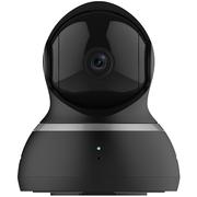 小蚁 云台智能摄像机 夜视 1080P高清版 360度旋转监控 无线WIFI摄像头  监控 安防(黑色)