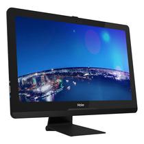 海尔 Aphro T8-B570D 23英寸一体机电脑(i5-7400 8G 128G SSD+500G Win10 WIFI 全高清 有线键鼠)产品图片主图