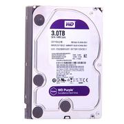 西部数据 紫盘 3TB SATA6Gb/s 64M 监控硬盘(30EJRX)
