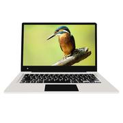 中柏 EZbook 3S 14英寸轻薄笔记本 (Intel Apollo N3450 6G+256G SSD 1920*1080FHD屏)极光银