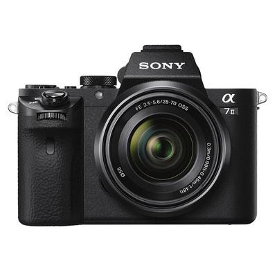 索尼  ILCE-7M2K 全画幅微单双镜头套装(2430万有效像素 28-70mm镜头+50MMF1.8镜头)产品图片2